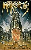 Blechschild Nostalgieschild Metropolis Fritz Lang
