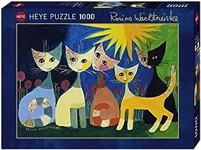 Heye 29772–Colourful Company estándar, Rosina Wachtmeister, Puzzle de 1000piezas