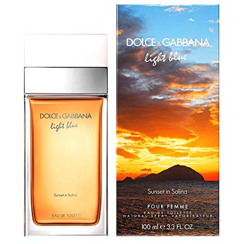 Dolce & Gabbana D&G Light Blue Sunset in Salina Eau de Toilette 25ml NEU & OVP