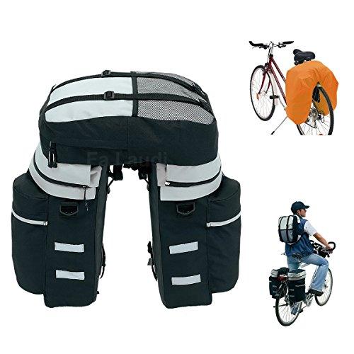 Exklusive Satteltasche, Fahrradtasche, super Design, Gr. XXL