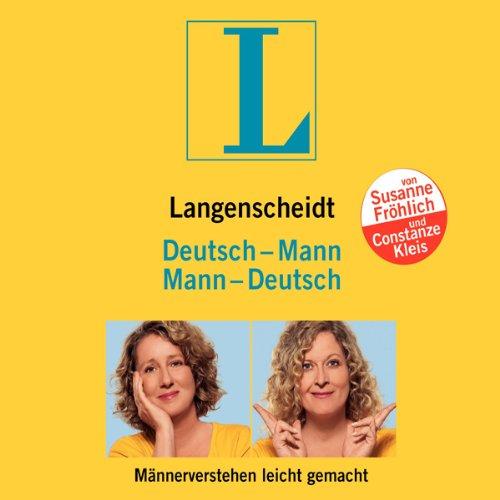 Langenscheidt Mann - Deutsch / Deutsch - Mann. Männerverstehen leicht gemacht Titelbild