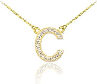 Best initial pendant necklace diamond Reviews