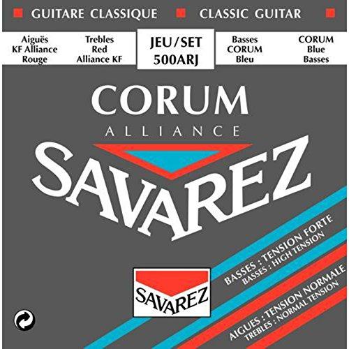 SAVAREZ 500ARJ コラムアリアンス クラシックギター弦