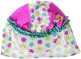 Playshoes DIE Maus Baby-Mädchen UV-Schutz Maus Blumen Mütze, Mehrfarbig (Weiß/Rosa 586), 53 (Herstellergröße: 53cm)