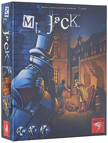 Mr Jack London - Asmodee - Jeu de société - Jeu denquête - J