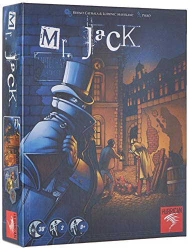 Jeu de société Mr Jack London