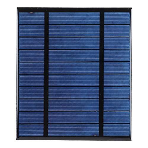 Toasses Módulo de Cargador de Panel de energía Solar portátil de 2.5W 5V DIY para un Dispositivo móvil al Aire Libre Cargando