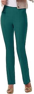 URREBEL Pants for Womens-Simon Chang Pull-on Straight Leg Pants(Style#6234r)