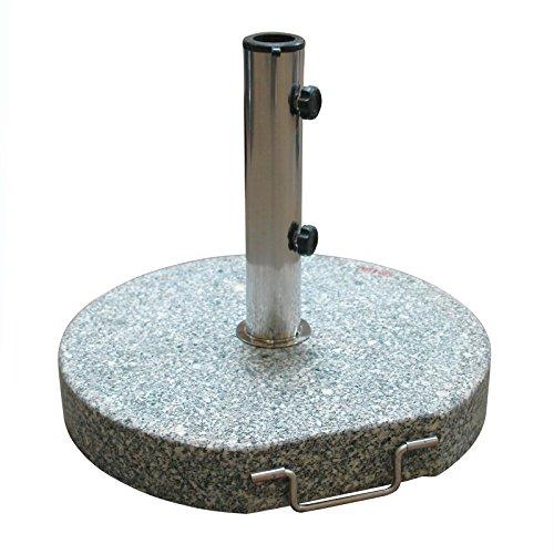 DEMA Sonnenschirmständer rund Ø 45 Granit grau 30 kg