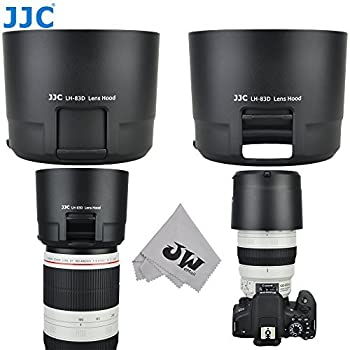 Mugast ET-83C Lens Hood,Portable Plastic Sun Shade,Professional Replacement Lens Hood Shade Accessory for Canon EF 100-400mm f//4.5-5.6L Lenses,for Canon 5D2//60D//600D SLR Camera.