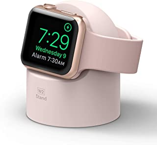 elago W2 Stand Compatible with Apple Watch Series 6/SE/5/4/3/2/1, 44mm, 42mm, 40mm, 38mm - Charging Dock Station, Supports...