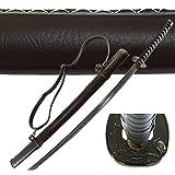 "Best Handmade Sword Katana Swords - MAKOTO Handmade Sharp Katana Samurai Sword 40"", Brown Review"