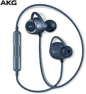 AKG N200 WIRELESS入耳式无线蓝牙耳机挂脖运动跑步重低音 蓝色