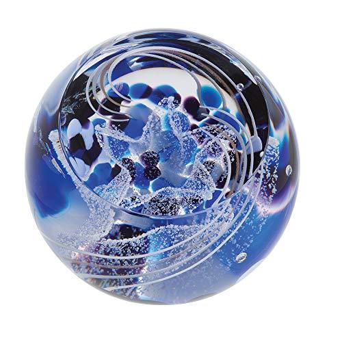 Caithness Glass Wonderful World - Fermacarte Multicolore in Cristallo