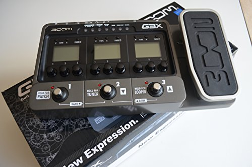 Zoom G3X - Pedal multiefectos