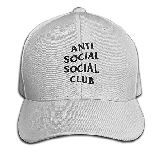 Jiehuism Cappellini Baseball Cappellino da Baseball Personalizzato per Tutte Le Partite Anti Social Club Cappello Sandwich Unisex Regolabile e Lavabile