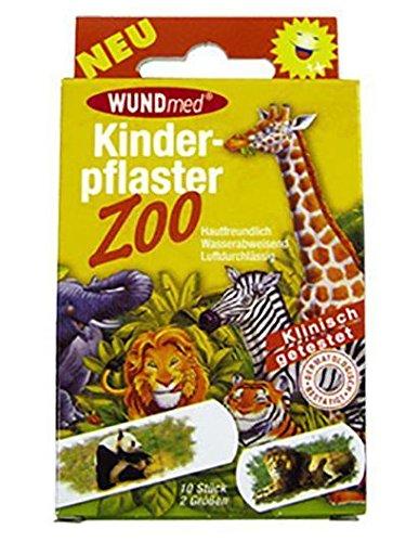 Kinderpleister dierentuin 10 stuks