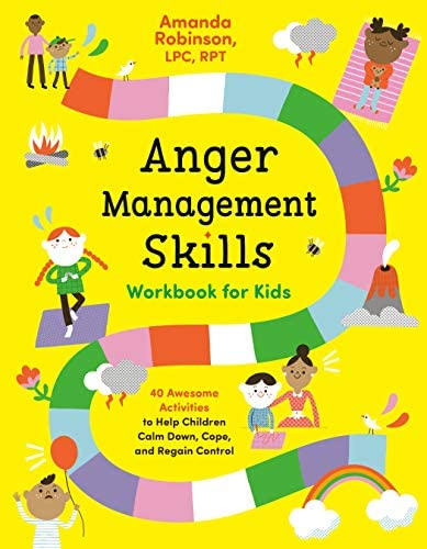 Anger Management Skills Workbook for Kids 40 Awesome Activities to Help Children Calm Down Cope product image
