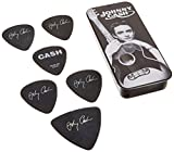 johnny cash guitar pic - Dunlop JCPT01M Johnny Cash Memphis Pick Tin, Assorted, Medium, 6 Picks/Tin