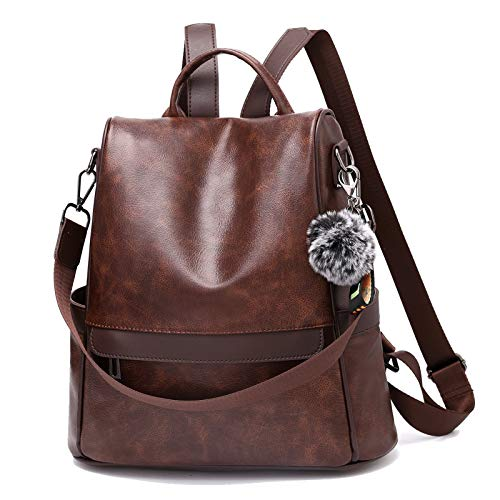 TcIFE Mochila Mujer Antirrobo Nylon Casual Bolsa Impermeable Bolso de Viaje Messenger Bag Backpack