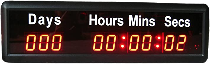 999 day23hours59minutes 59seconds led timer,countdown and count-up clock(HIT9-1R)