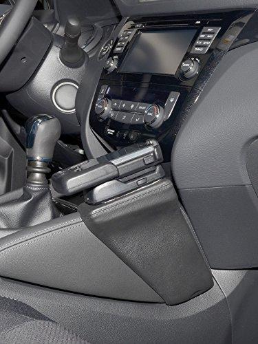 KUDA 1515 Halterung Kunstleder schwarz für Nissan Qashqai (J11) ab 11/2013 (MU)