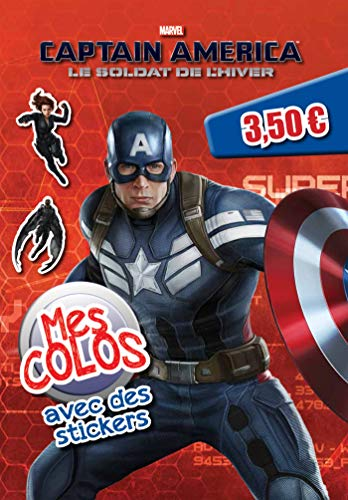 Captain America 2, MES COLOS AVEC STICKERS