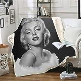 LIFUQING Marilyn Monroe Trapunta Trapunta Moda per Adulti...