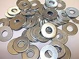 Pack de 500 arandelas M6 de alta resistencia de forma A – BZP – DIN125A chapado en zinc brillante