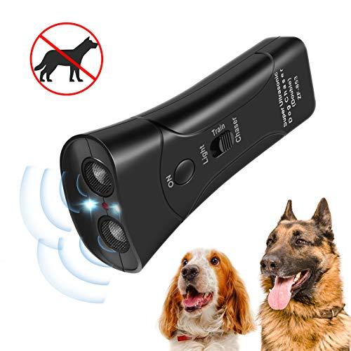 Zomma Handheld Dog Repellent, Ultrasonic Infrared Dog Deterrent, Bark Stopper + Good Behavior