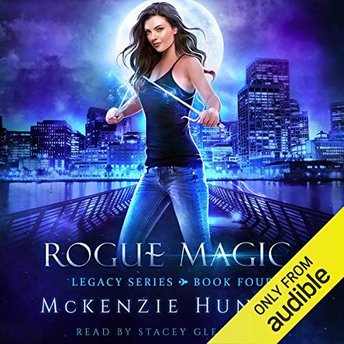 Rogue Magic audiobook cover art