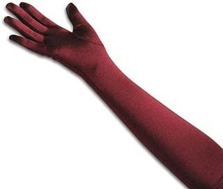 ™ Classic Adult Size Long Opera/Elbow/Wrist Length Satin Gloves