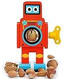 Suck UK - Cascanueces, diseño de robot, color rojo, 1 unidad