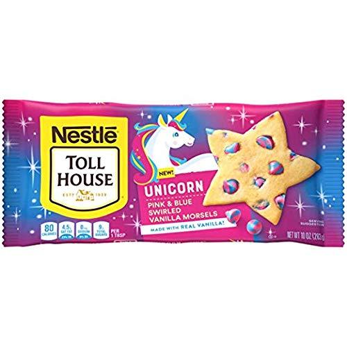 Unicorn Pink & Blue Swirled Vanilla Morsels