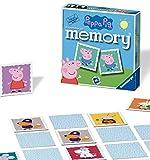 Ravensburger Peppa Pig-Mini memoria para niños a partir de 3 años clásico a juego de pares, 0 (21376) , color/modelo surtido
