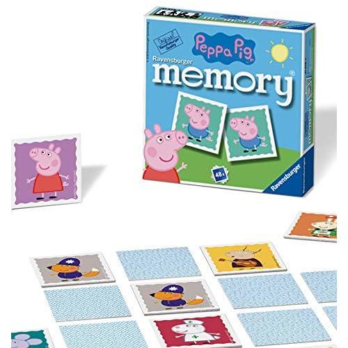 Ravensburger Mini Memory® | 48 Carte Illustrate | Peppa Pig Bmabini Gioco