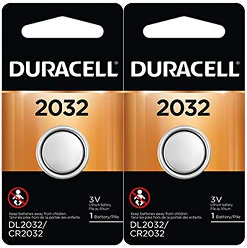 Duracell DL2032B2 | Lithium 3V CR2032 Battery (2 Pack)