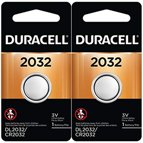 Duracell DL2032B2 | Lithium 3V CR2032 Battery (2 Pack)