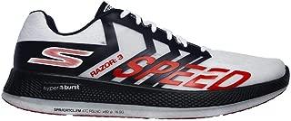 Skechers Go Run Razor 3 White/Navy/Red Men's 13, Women's 14.5