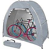 SUYUDD Tente De Vélo, Abri De Stockage De Vélos avec Sac De Transport Cave À Vélo Extérieure Protection Résistante Aux Intempéries pour 2-3 Vélos - Tente De Vélo pour Le Stockage Extérieur