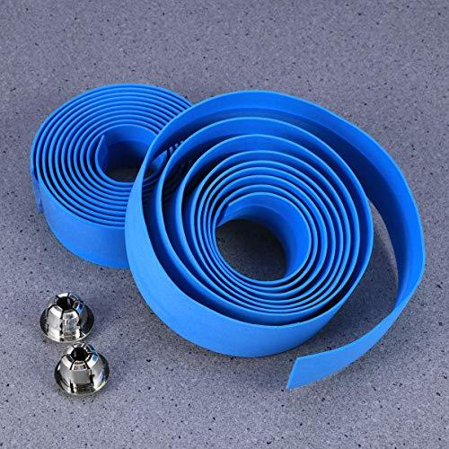 LIOOBO 4 Paar Fahrradlenker Wrap Anti-Rutsch-Fahrräder Lenkerband Radfahren Griffband Streifen für den Winter im Freien - 7