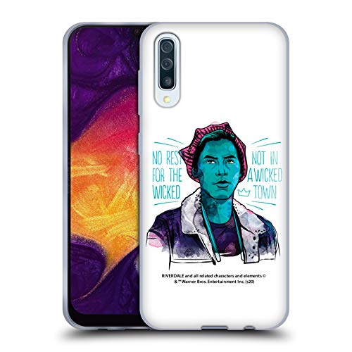 Head Case Designs Officially Licensed Riverdale Jughead Jones Art Soft Gel Case Compatible with Samsung Galaxy A50/A30s (2019)