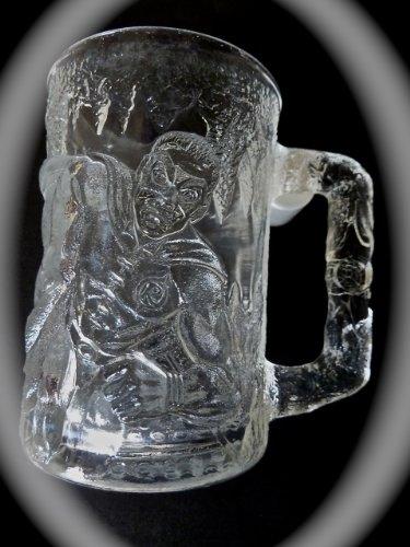 Batman Forever Collectible (Robin) glass drinking mug