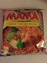 Instant Mama BEAN VERMICELLI Shrimp Tom Yum Thai Original Flavor - Pack of 10