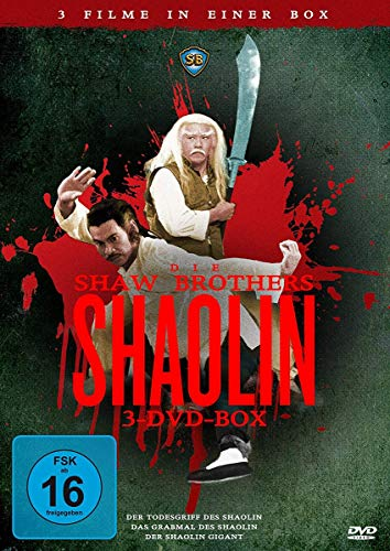 Shaw Brothers Shaolin-Box [3 DVDs] - 3 Filme in einer Box