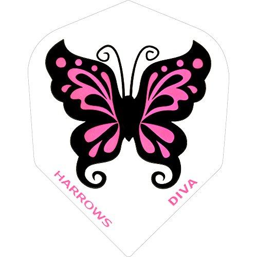 Dart Flights–Harrows–Diva Flights–Schmetterling–5sets (15)