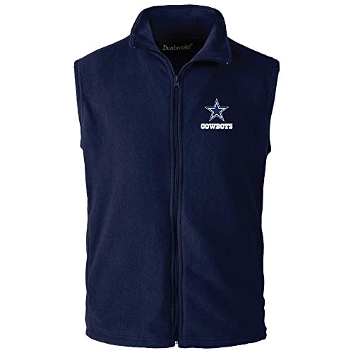 newest d79c6 a1e69 Dallas Cowboys Vest: Amazon.com