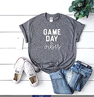 Game day vibes Sundays are for football women's football tee women's football outfit game day, Football tee