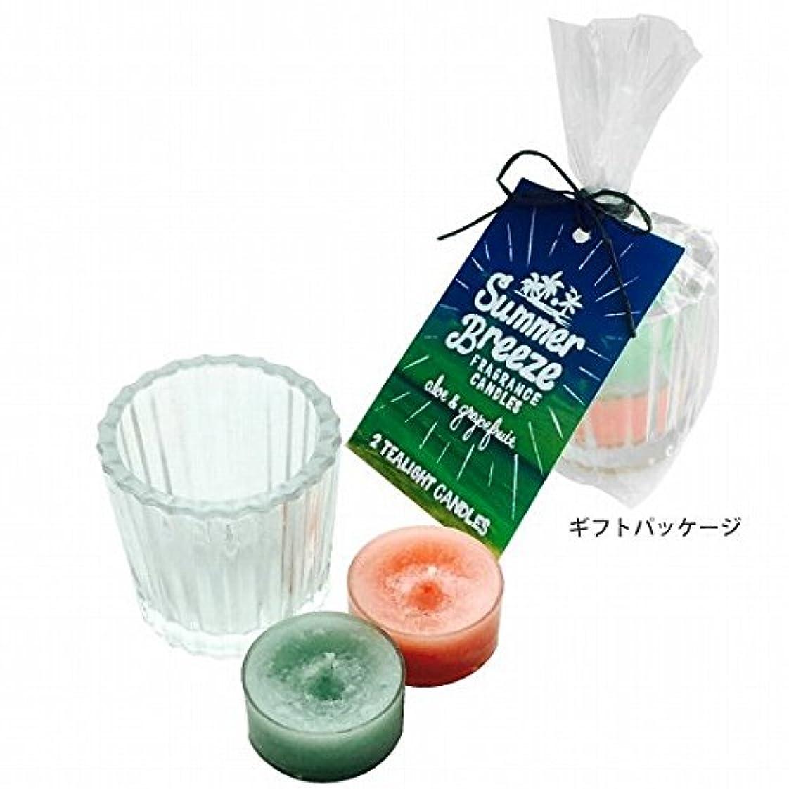 排出欠員強度カメヤマキャンドル(kameyama candle) サマーブリーズティーライトキャンドルセット
