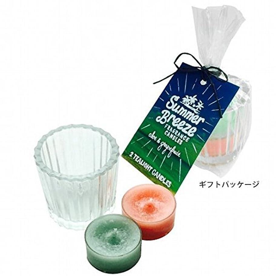 面積動揺させる無声でカメヤマキャンドル(kameyama candle) サマーブリーズティーライトキャンドルセット
